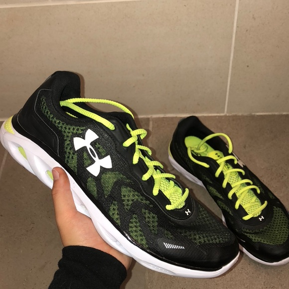 Under Armour Shoes | Neon Green And